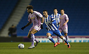 Reading midfielder Daniel Williams (23) during the Sky Bet Championship match between Brighton and Hove Albion and Reading at the American Express Community Stadium, Brighton and Hove, England on 15 March 2016.