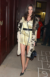 Model MARIE DONOHUE  at a launch party for Kraken Opus's new luxury sports books held at Sketch, 9 Conduit Street, London W1 on 22nd February 2006.<br /><br />NON EXCLUSIVE - WORLD RIGHTS