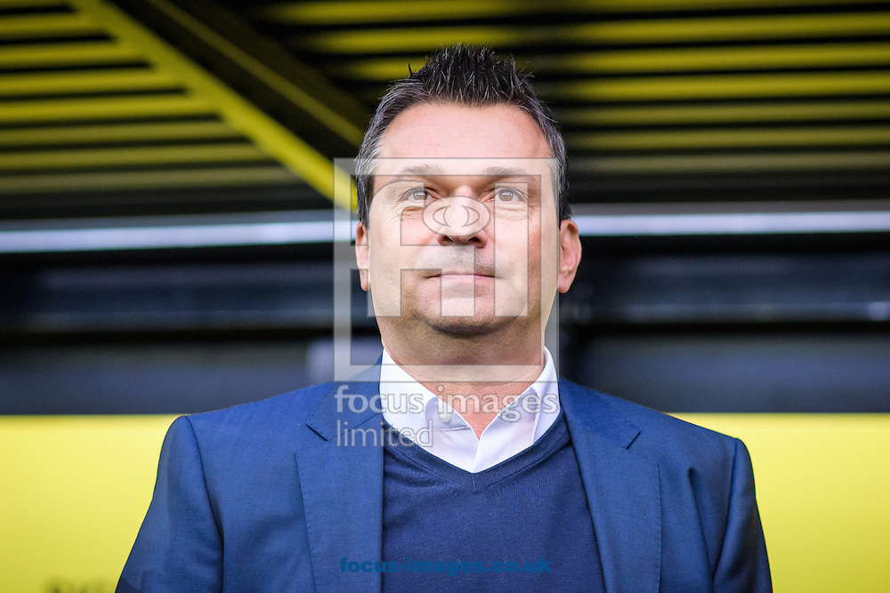 Christian Heidel, head coach of FC Schalke 04 during the Bundesliga match at Signal Iduna Park, Dortmund<br /> Picture by EXPA Pictures/Focus Images Ltd 07814482222<br /> 29/10/2016<br /> *** UK &amp; IRELAND ONLY ***<br /> EXPA-EIB-161030-0020.jpg