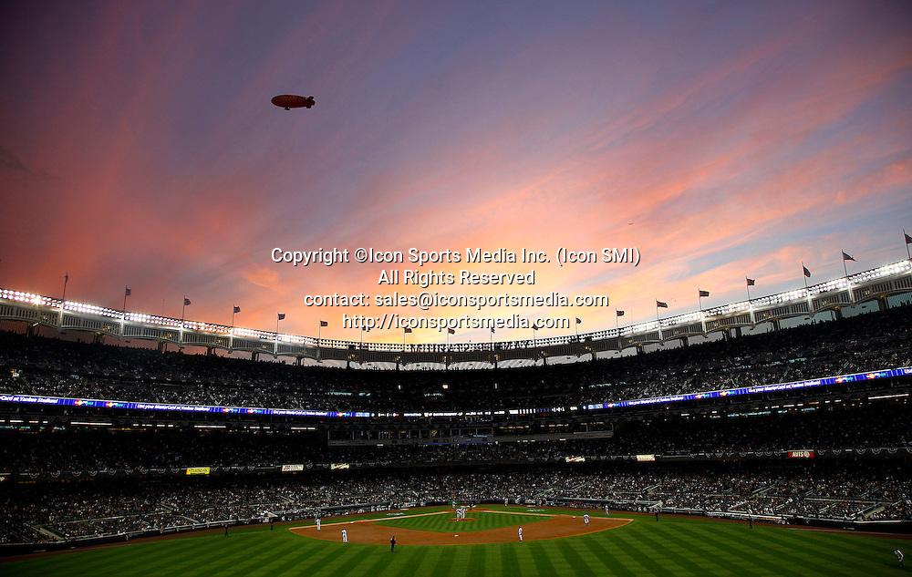 General view of Yankee Syadium during game 5 of the ALCS at Yankee Stadium in New York, October 20 2010.