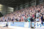 Dundee fans -  St Johnstone v Dundee, SPFL Premiership at McDiarmid Park<br /> <br />  - &copy; David Young - www.davidyoungphoto.co.uk - email: davidyoungphoto@gmail.com