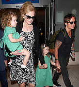 02.JANUARY.2013. LOS ANGELES<br /> <br /> CODE - CI<br /> NICOLE KIDMAN AND KEITH URBAN ARRIVING AT LAX WITH THEIR CHILDREN FAITH AND SUNDAY.<br /> <br /> BYLINE: EDBIMAGEARCHIVE.CO.UK<br /> <br /> *THIS IMAGE IS STRICTLY FOR UK NEWSPAPERS AND MAGAZINES ONLY*<br /> *FOR WORLD WIDE SALES AND WEB USE PLEASE CONTACT EDBIMAGEARCHIVE - 0208 954 5968*