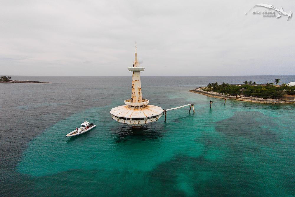 The abandoned Coral World in Nassau, Bahamas.