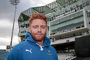 Jonny Bairstow (Yorkshire CCC) after the Royal London 1 Day Cup match between Yorkshire County Cricket Club and Durham County Cricket Club at Headingley Stadium, Headingley, United Kingdom on 3 May 2017. Photo by Mark P Doherty.