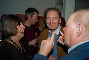 MARGARET DRABBLE; MICHAEL HOLROYD; CLIVE SWIFT, The Actors Centre's 30th Birthday Party. 1a Tower St, Covent Garden. London. 2nd November<br />
