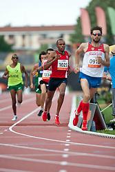ZHIOU Abderrahim, TUN, 800m, T12, 2013 IPC Athletics World Championships, Lyon, France