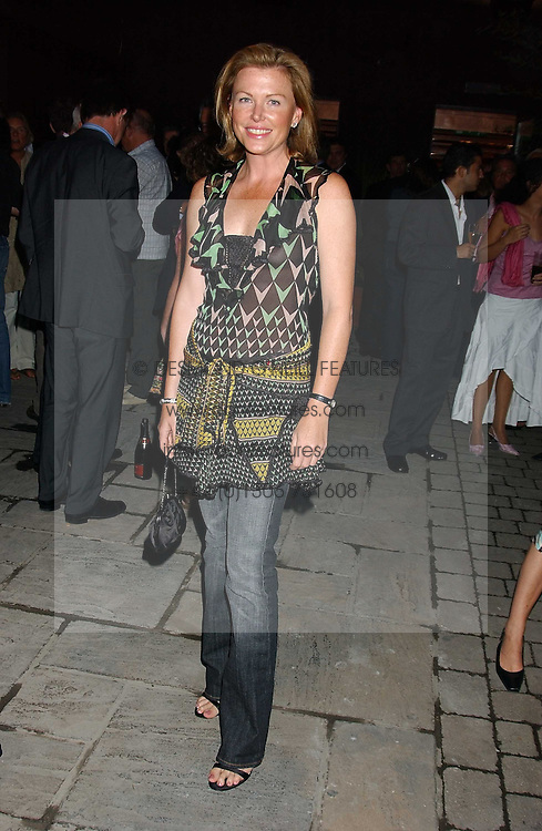 EIMEAR MONTGOMERIE at the opening party of the new Frankie's Italian Bar and Grill hosted by Frankie Dettori, Marco Pierre White and Edward Taylor at 68 Chiswick High Road, London W4 on 1st September 2005.<br />