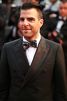 Zachary Quinto at the All Is Lost film gala screening at the Cannes Film Festival Wednesday 22nd May 2013
