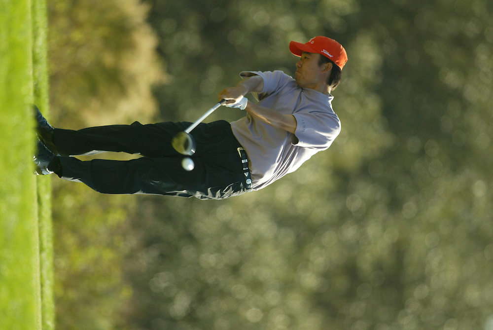 Kevin Na..2003 PGA Tour Qualifying, Final Stage.Sixth Round.Orange County National GC.Orlando, FL.Sunday, December 7  2003..Photograph by Darren Carroll..
