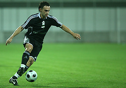 Dejan Geric (4) of Interblock at 2nd football match of 1st Qualifying Round for UEFA Cup between NK Interblock (Ljubljana) vs FC Zeta (Golubovci), on July 31, 2008, in Arena Petrol, Celje, Slovenia. Domzale won 1: 0 and advanced to second round. (Photo by Vid Ponikvar / Sportal Images)