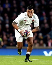 Nathan Hughes of England - Mandatory by-line: Robbie Stephenson/JMP - 04/02/2017 - RUGBY - Twickenham - London, England - England v France - RBS Six Nations
