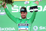 Podium, Peter Sagan (SVK - Bora - Hansgrohe) green jersey during the 105th Tour de France 2018, Stage 6, Brest - Mur de Bretagne Guerledan (181km) in France on July 12th, 2018 - Photo George Deswijzen / Proshots / ProSportsImages / DPPI