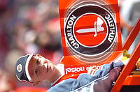 Photo: Tony Oudot.<br />Charlton Athletic v Wigan Athletic. The Barclays Premiership. 31/03/2007.<br />A young Charlton fan