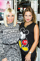*, Sam and Billie Faiers - signing, Casio, Covent Garden, London UK, 06 December 2013, Photo by Raimondas Kazenas