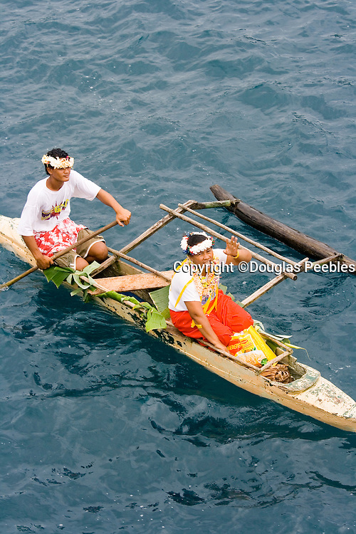 Welcoming ceremonyKioa Island, Fiji, Melanesia, South Pacific