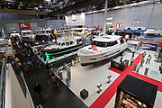 Düsseldorf, North Rhine Westphalia.<br /> Boot 2015 is the biggest fair related to yachting and maritime sports in the World.