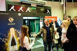during Slovenian Tennis personality of the year 2017 annual awards presented by Slovene Tennis Association Tenis Slovenija, on November 29, 2017 in Siti Teater, Ljubljana, Slovenia. Photo by Vid Ponikvar / Sportida