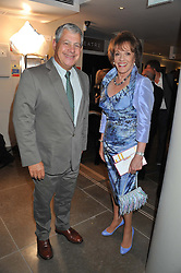 SIR CAMERON MACKINTOSH and ESTHER RANTZEN at the opening of the new St.James Theatre, 12 Palace Street, London SW1 on 13th September 2012.