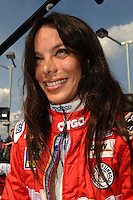 Milka Duno, Peak Antifreeze and Motor Oil Indy 300, Chicagoland Speedway, Joliet, IL USA  8/29/08