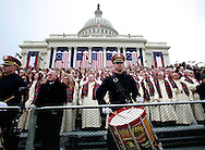 Mormon Tabernacle Choir at the Inaugural Ceremony as Donald Trump takes the oath of office for the presidency of the United States on January 20,2017<br /> <br /> Photo by Dennis Brack
