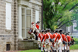 Revolutionairy Germantown re-enacts the October 4th 1777 battle on the grounds of Cliveden between the American and British (Bas Slabbers/for NewsWorks)