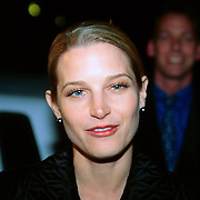 Actrice Bridget Fonda at the premiere of her film A Simple Plan in Rotterdam the Netherlands