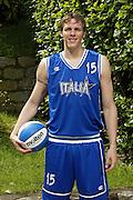 SONDRIO, ESTATE 2002<br /> POSATI NAZIONALE ITALIANA MASCHILE<br /> NELLA FOTO: MONTI<br /> FOTO CIAMILLO