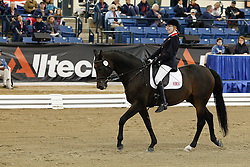 Sophie Christiansen (GBR) and Rivaldo of Berkeley winning the gold medal in Grade Ia of the Para Equestrian competition<br /> Alltech FEI World Equestrian Games <br /> Lexington - Kentucky 2010<br /> © Dirk Caremans