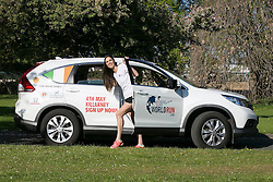 No repro Fee: Model Alison Canavan is encouraing last minute runners to join her in the Wings For Life World Run this Sunday, May 4th in Killarney, in aid of spinal cord research. You can still sign up by phone on 01-6436406 or at the registration area on Saturday and Sunday. Details on www.wingsforlifeworldrun.com Credit: Andres Poveda