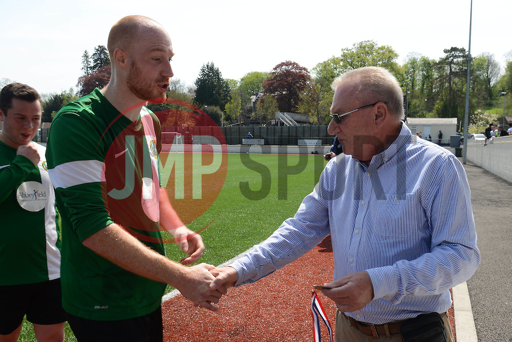 Matthew Trudgeon of SWYD United - Mandatory by-line: Dougie Allward/JMP - 08/05/2016 - FOOTBALL - Keynsham FC - Bristol, England - BAWA Sports v SWYD United - Presidents cup final