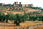 SPAIN, CASTILE-LA MANCHA Oropesa Castle c1366; National Parador