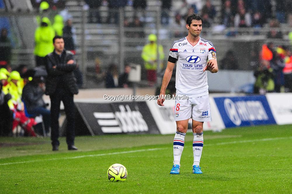 Yoann GOURCUFF - 21.03.2015 - Lyon / Nice - 30eme journee de Ligue 1 -<br /> Photo : Jean Paul Thomas / Icon Sport