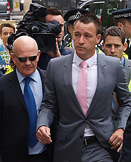 John Terry arriving at court 9-7-12