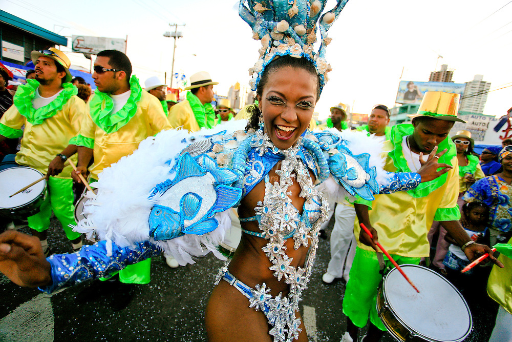 Images of the Celebration of Carnivals in Panama City, Panama. Photo by: Tito Herrera / www.titoherrera.com