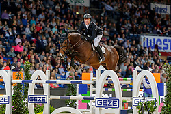 GREVE Willem (NED), Grandorado TN<br /> Stuttgart - German Masters 2019<br /> Preis der Firma GEZE GmbH<br /> Int. Springprüfung mit Siegerrunde (1.50 m)<br /> CSI5*-W, Wertungsprüfung für LONGINES Ranking<br /> 16. November 2019<br /> © www.sportfotos-lafrentz.de/Stefan Lafrentz