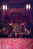 Altar in Tin Hau Temple, Hong Kong