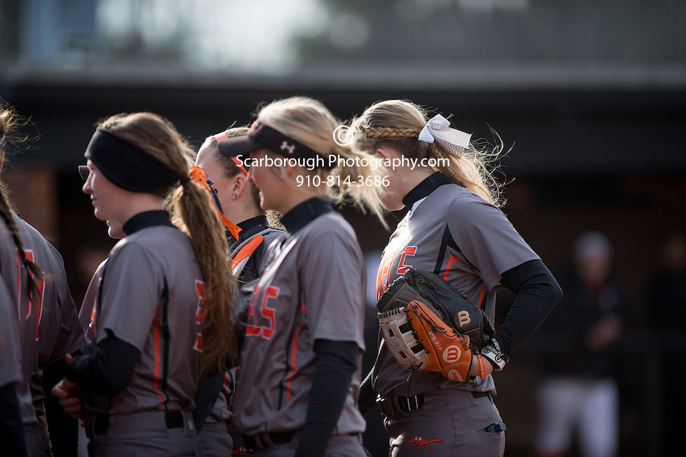 BUIES CREEK, NC - February 10th, 2017 Campbell University Softball vs St. Francis