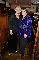Left to right, SHEILA HANCOCK and IMELDA STAUNTON at One Night Only at The Ivy in aid of Acting For Others supported by Tanqueray No.TEN Gin at The Ivy, 1-5 West Street, London on 1st December 2013.