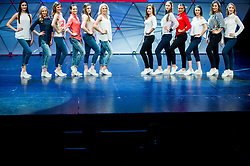 Girls during Miss sports event, on April 22, 2017 in Cankarjev dom, Ljubljana, Slovenia. Photo by Vid Ponikvar / Sportida