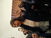Victoria Miro. Victoria Miro Gallery Inaugural lunch in aid of Thomas Demand and Gerwald Rockenschaub. N1. London. 26 November 2000. © Copyright Photograph by Dafydd Jones 66 Stockwell Park Rd. London SW9 0DA Tel 020 7733 0108 www.dafjones.com