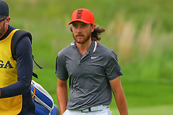 May 19, 2019 - Farmingdale, NY, U.S. - FARMINGDALE, NY - MAY 19:  Tommy Fleetwood of England on the 18th hole during the final round of the 2019 PGA Championship at the Bethpage Black course with a score of 8 under par on May 19, 2019 in Farmingdale, New York.(Photo by Rich Graessle/Icon Sportswire) (Credit Image: © Rich Graessle/Icon SMI via ZUMA Press)