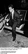 Sylvester Stallone arriving at Elton John's Birthday party. the Dome. Sunset. Los Angeles.  March 1990.<br /><br />© Copyright Photograph by Dafydd Jones<br />66 Stockwell Park Rd. London SW9 0DA<br />Tel 0171 733 0108<br />Film. 90201/19