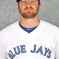 March 2, 2012; Dunedin, FL, USA; Toronto Blue Jays starting pitcher Kyle Drabek (4) poses for a portrait during photo day at Florida Auto Exchange Stadium.  Mandatory Credit: Derick E. Hingle-US PRESSWIRE