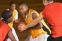 Basketball match (close-up)