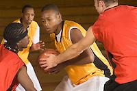 Basketball match (close-up)