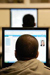 Computer room; Surrey University UK