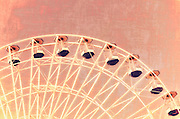 Ferris Wheel, Ocean City, New Jersey with a vintage retro modern scratched textured feel in red. Series 1. Part of a larger series of images, taken of the the Giant  Wheel located on Gillians Wonderland Pier in Ocean City New Jersey in 2012. It is one of the largest ferris wheels on the east coast. Series 1 contains four different colored versions of this image in red, blue, green and purple. If you are interested in purchasing more than one image in the series, contact me at wordplanet@gmail.com and I will provide you with a coupon code to save.
