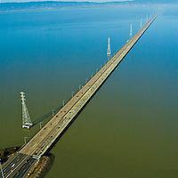 Aerial view of San Rafael Bridge