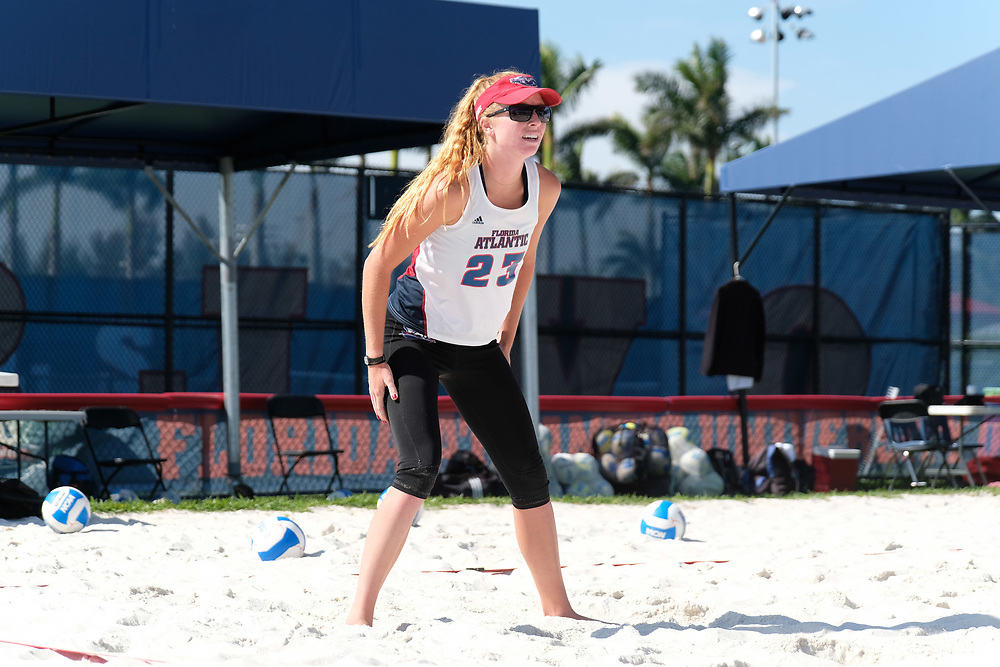 2018 FAU Beach Volleyball vs Webber State
