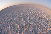 Dry Salt Pan<br /> Makgadikgadi Pans, Kalahari Desert<br /> Northeast BOTSWANA<br /> One of the largest salt flats in the world